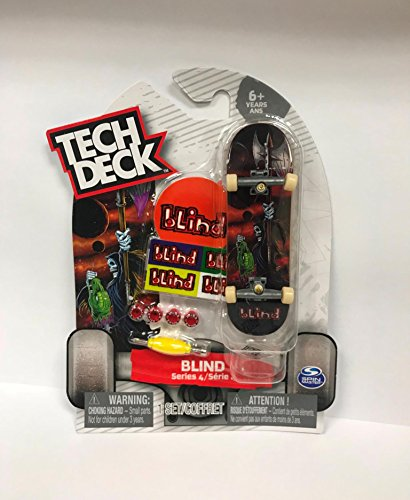 Tech Deck Series 4 Blind Reaper Ultra Rare Fingerboard Skateboard Toy Skate (Tech Deck Skate Shop)