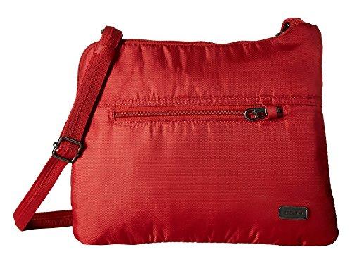 Pacsafe Women's Daysafe Anti-Theft Slim Crossbody Bag Baked Apple One Size
