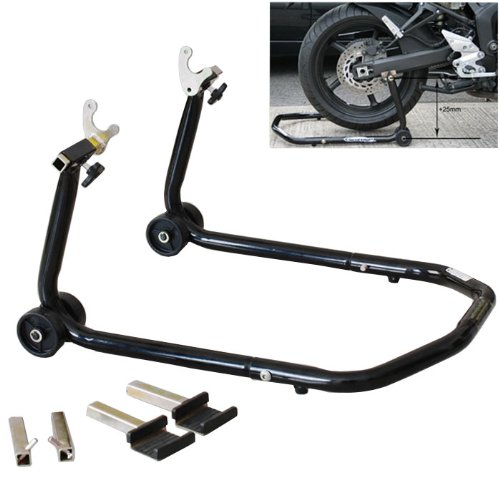 Multiple Purpose All In One Front Or Rear Universal Sportbike Motorcycle Lift Stand Swingarm Spool Paddle Lift Fork Lift GSXR GIXXER 600 750 1000 Hayabusa CBR 600 900 1000 YZF R1 R6 ZX 6R 7R 9R
