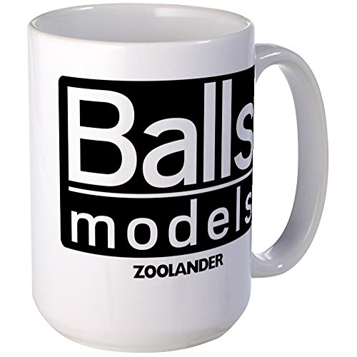 CafePress - Ballmodels_Trans.Png Mugs - Coffee Mug, Large 15 oz. White Coffee Cup (Ball Christmas White Png)