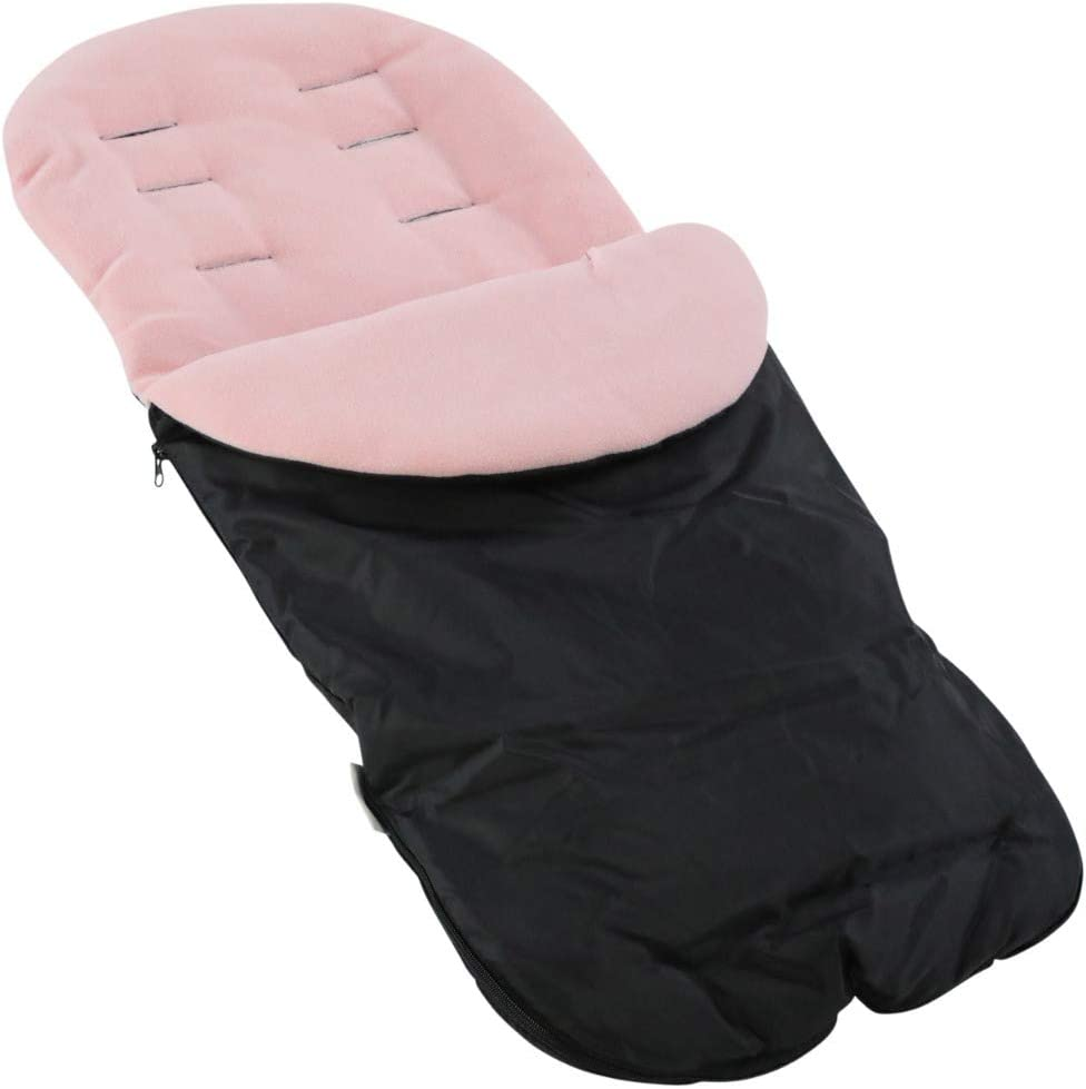 Light Pink Footmuff//Cosy Toes Compatible with Mamas /& Papas Ocarro