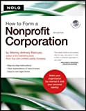 How to Form a Nonprofit Corporation, Anthony Mancuso, 1413306470
