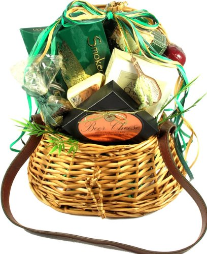 Gift Basket Village The Fish Whisperer Gift Basket with Fishing Creel