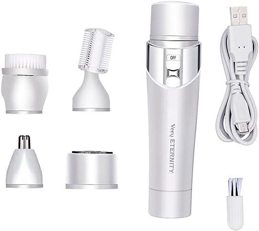 Maquinilla Afeitar Para Mujer 5 En 1 Kit Aseo PortáTil Para Señora ...