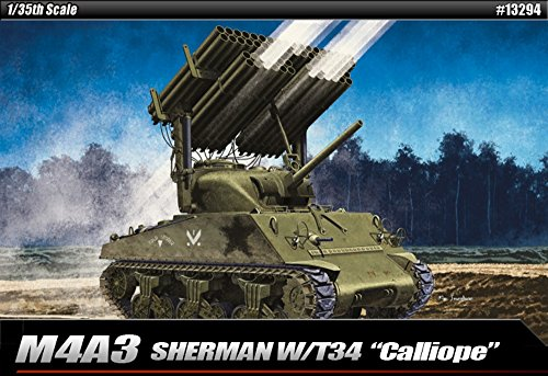 (Academy M4A3 Sherman with T34
