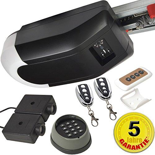 Sol Royal® Garagentor-Antrieb SolTec GT-1000-15 Komplett-Set 5tlg für Schwing & Roll-Tore bis 15m² mit 5 Jahre Garantie