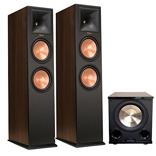 Klipsch 280F Walnut (Pair) with PL-200II