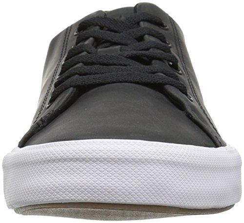 II Black 7 Sneaker Men Top Leather LTT Sider Sperry US Medium Striper IaTqw4xS