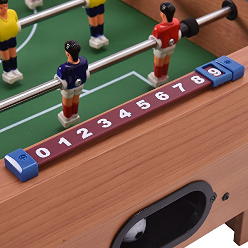 Mini Tabletop Soccer Foosball Table Game w/ Legs | Game Play Players Room Soccer Football Sports Boys Christmas Gift by Eosphorus (Image #4)