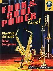 Funk & Soul Power Live!: Tenor Saxophone