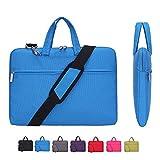 Laptop Case,Tinkle ONE Slim Lightweight Laptop Shoulder Bag Cover for 14 Inch Laptop,Tablet,Macbook,Notebook (Blue)