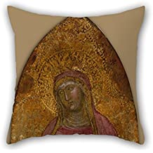 Beautifulseason Pillow Covers Of Oil Painting Andrea Da Firenze - Saint Elizabeth Of Hungary 20 X 20 Inches / 50 By 50 Cm Best Fit For Girls Club Dinning Room Husband Valentine Sofa 2 Sides
