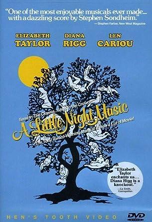 Amazon com: A Little Night Music: Elizabeth Taylor, Diana Rigg, Len