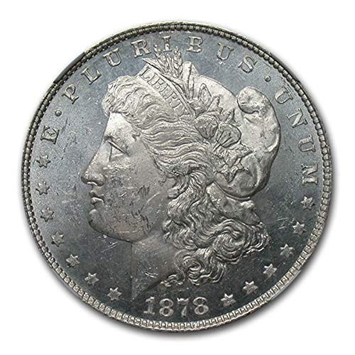 1878 Morgan Dollar 8 TF MS-62 NGC (PL) $1 MS-62 NGC