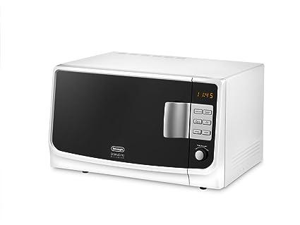 DeLonghi MW25GS - Microondas con grill, 1595 W, color blanco y ...