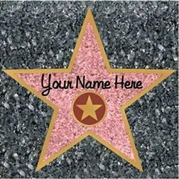 Hollywood Movie Costumes Ideas (Star Peel-N-Place Party Accessory (1 count) (1/Sh))