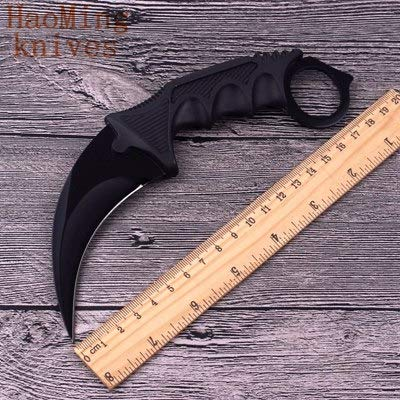 1 piece Tactical Combat Camping karambit Paw Knives CS GO Counter-Strike Portable Hunting Fixed Knife Rescue survive Practical EDC Tools (Cs Go Best Knife Under 100)