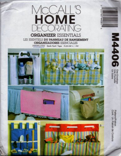 Caddies and Organizers Essentials - McCall's Home Decorating Pattern M4406