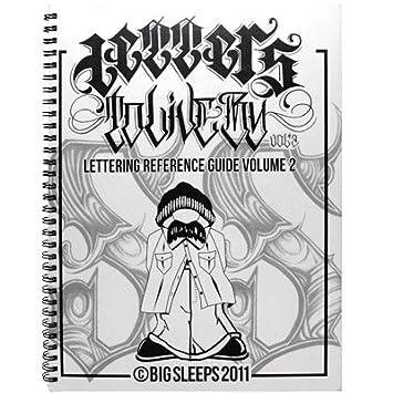 Amazon.com: Big Sleeps Cartas a vivir por Vol. 2 Sketchbook ...