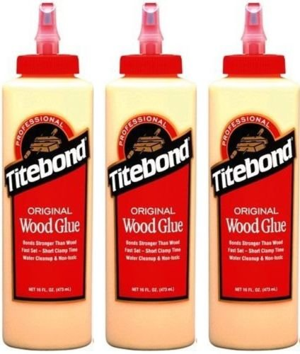5 opinioni per TITEBOND Colla per legno originale, di qualità professionale, 3 flaconi da 473