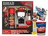 UPD Cars Lightning McQueen Pretend to Shave 6pc Bath Time Play Set! - Plus Rinse Cup, Clean up Timer & Character Stickers!