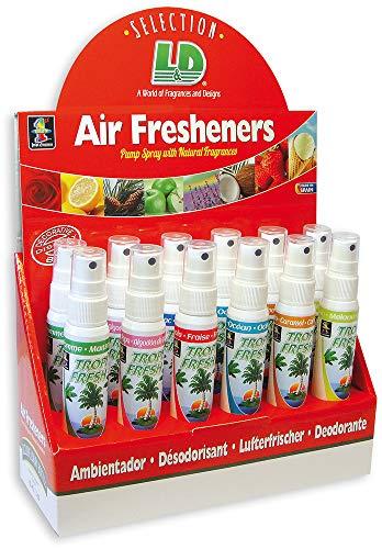 TROPIFRESH PUMP AIR FRESHENER - BOX OF 12: