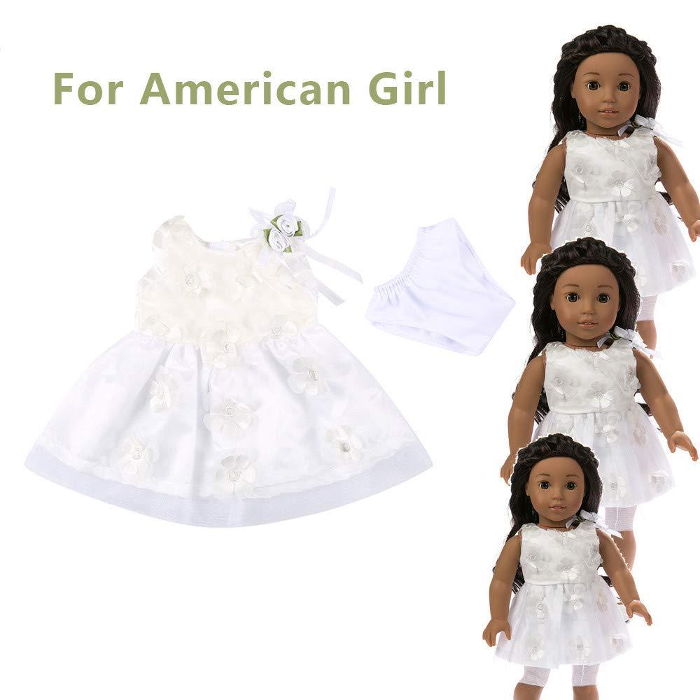 Amazon.es  YOYOGO ❀Juguetes para La Arena Y para La Playa Accesorios De Disfraces  Diarios para Muñecas Ropa para Muñecos De 18 Pulgadas American Girl Doll   ... 157b69457125
