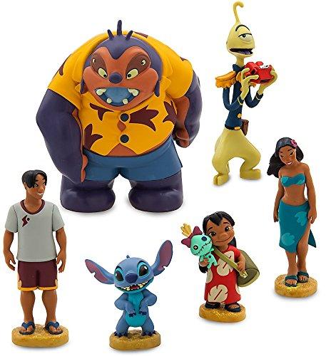 Disney LILO & STITCH FIGURINE PLAYSET Cake Toppers Set of 6 pvc doll Figures by Disney (Image #3)