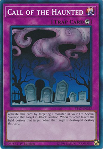 Haunted Deck - Call of the Haunted - YS17-EN033 - Common - 1st Edition - Starter Deck: Link Strike (1st Edition)