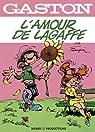 Gaston - 2011 : L'amour de Lagaffe : Gaston et Mlle Jeanne par Franquin