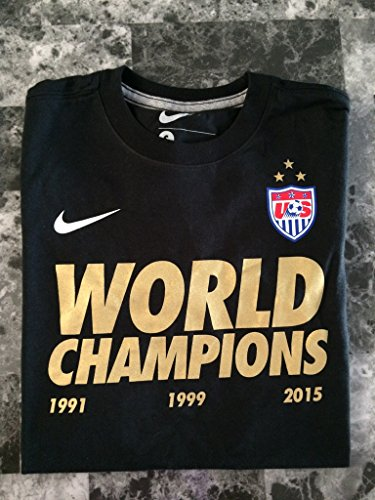 b3d6f2ee8 Amazon.com USWNT Soccer 2015 World Champions Nike Youth T-Shirt Size Small  Sports ...