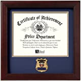 Allied Frame Police Officer Certificate of Achievement Frame