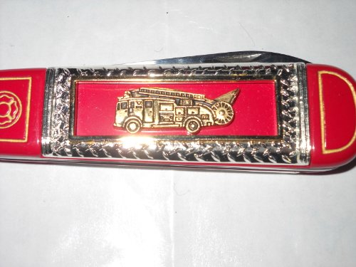 Dennis F12 Pumper Franklin Mint Knife