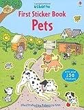 Pets (Usborne First Sticker Books)