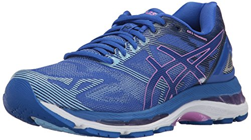 ASICS Womens Gel-Nimbus 19 Running Shoe, Purple/Violet/Airy Blue, 7.5 Medium US