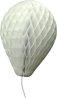 "product image for 6-Pack 11"" Honeycomb Tissue Paper Balloon (White)"