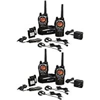 Midland 361947 2-Way Radio Value Pack - 4 Pack