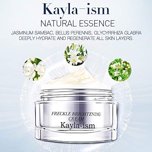 51CoMlOSMvL - Kayla-Ism Face Cream | Anti Wrinkle Anti Aging Daily | Lighten & Fade Freckles in 28 days | Moisturizer Cream with Jasmine Essence | Retinol Cream | Firming Skin Care | Facial Moisturizer Night Cream