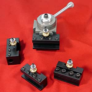 Quick Change Toolpost & 4 holders for Taig from A2Z