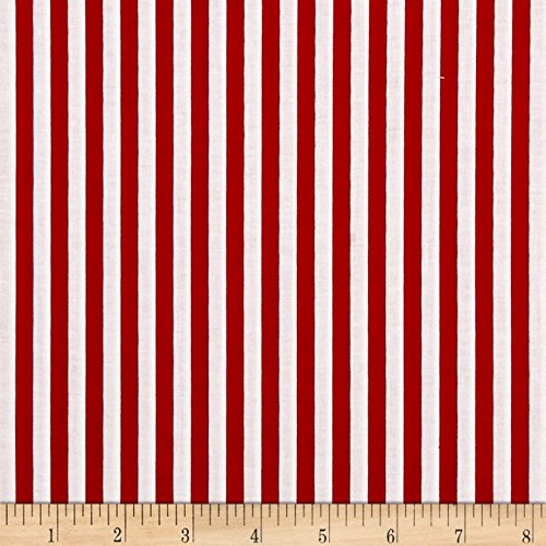 - Riley Blake Designs Riley Blake 1/4in Stripes Red Fabric by The Yard