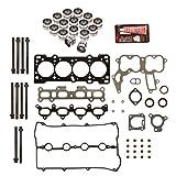 Evergreen HSHBLF6022 Lifter Replacement Kit fits 95-97 Kia Sephia 1.8 DOHC 16V BP Head Gasket Set, Head Bolts, Lifters