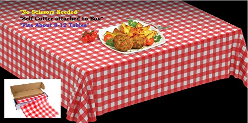 Disposable Plastic Tablecloths Tablecloth Perfect product image