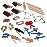 25-Player/40-Piece Early Learning Music Rhythm Kit (Age 3+)