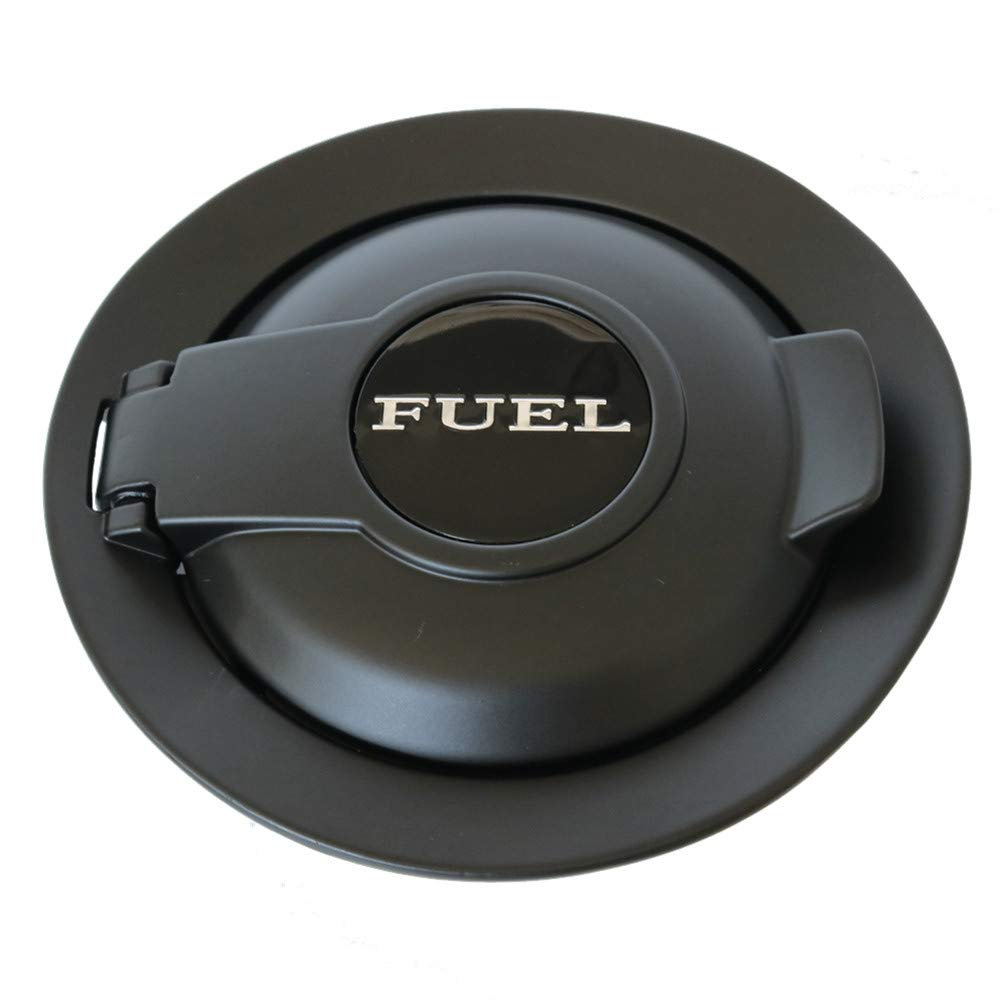 Fuel Gas Door Vapor Edition Matte Black Fit for 2008-2019 Dodge Challenger Fuel Filler Door 68250120AA