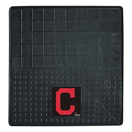 CC Sports Decor MLB Cleveland Indians Heavy Duty Vinyl Cargo Mat for Car Trunk