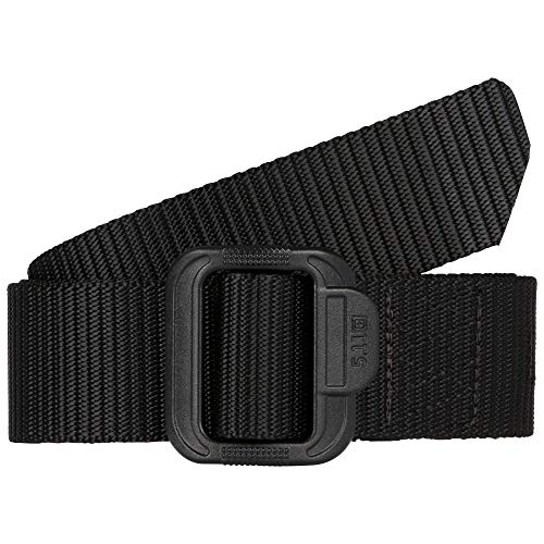 5.11 TDU Tactical Belt, Non-Metal, 1.5-inch, Style 59551 , Black , Large