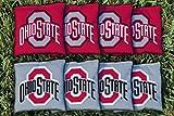 corn hole ohio state - 8 Ohio State OSU Buckeyes Regulation Corn Filled Cornhole Bags
