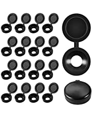 Plastic Hinged Screw Cover Caps Fold Screw Snap Covers Washer Flip Tops