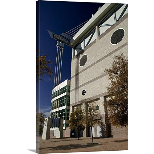 GREATBIGCANVAS Gallery-Wrapped Canvas Entitled Sports Stadium, Alamodome, San Antonio, Texas by 12