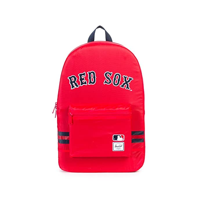 d18f8a0360 Herschel Supply Co. MLB Packable Day Pack Backpack Boston Red Sox   Amazon.co.uk  Clothing